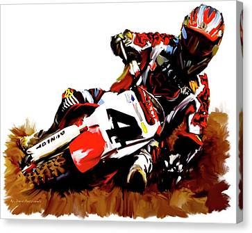 Hole Shot Ricky Carmichael Canvas Print