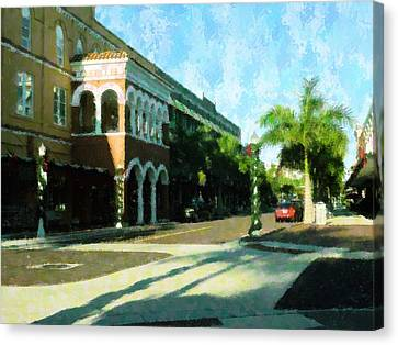 Holiday Ft. Myers Canvas Print by Florene Welebny