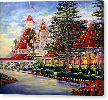 Holiday Hotel 2 Canvas Print