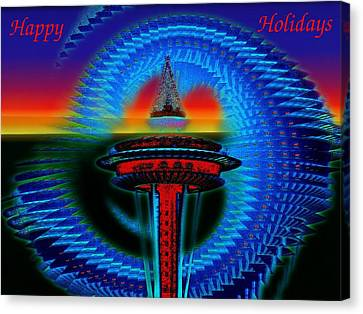 Holiday Needle 2 Canvas Print by Tim Allen