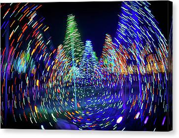 Holidays Aglow Canvas Print by Rick Berk