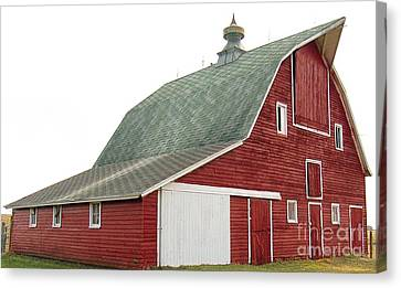 Lisa Phillips Canvas Print - The Old Barn by Lisa Phillips