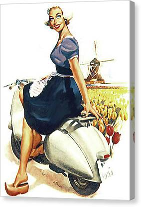 Canvas Print - Holland Welcome by Long Shot
