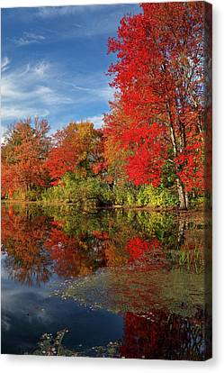 Canvas Print featuring the photograph Holliston Massachusetts by Juergen Roth
