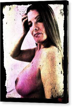 Holly 1 Canvas Print by Mark Baranowski