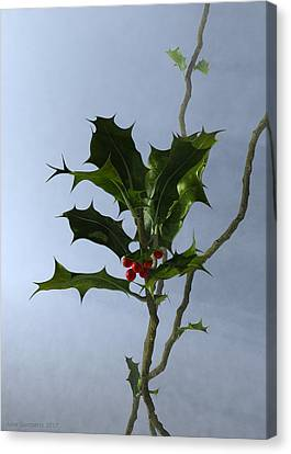 Canvas Print - Holly by Jules Gompertz