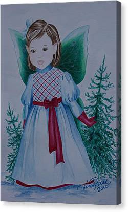 Holly Canvas Print by Tiina Rauk