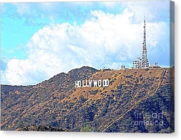 Hollywood Canvas Print by Edita De Lima