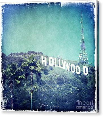 Hollywood Sign Canvas Print by Nina Prommer