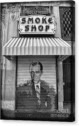 Hollywood Smoke Shop Canvas Print