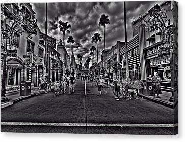 Hollywood Studios Canvas Print - Hollywood Studios Hdr by Jason Blalock