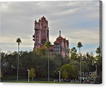 Hollywood Studios Tower Of Terror Canvas Print