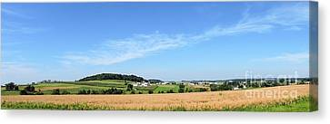 Amish Canvas Print - Holmes County Ohio by Gena Weiser