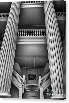 Holmes-hunter Building Canvas Print by Tom Gari Gallery-Three-Photography