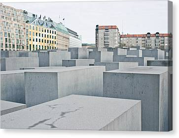 Holocaust Memorial Canvas Print by Tom Gowanlock