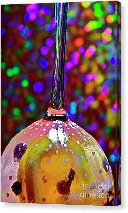 Holographic Fruit Drop Canvas Print