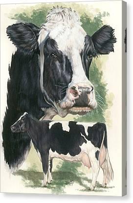 Holstein Canvas Print by Barbara Keith