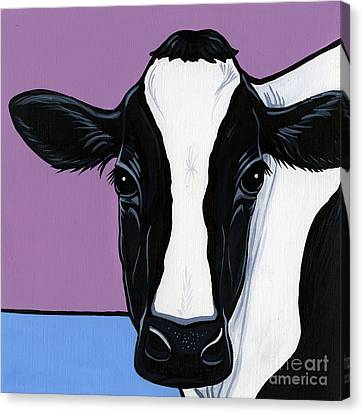 Holstein Canvas Print by Leanne Wilkes