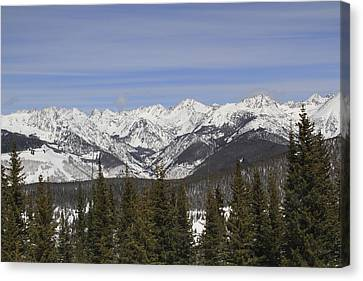 Holy Cross Wilderness Area, Colorado Canvas Print by John Kieffer