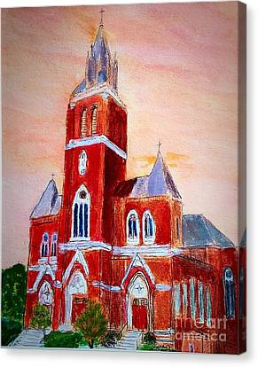Holy Family Church Canvas Print