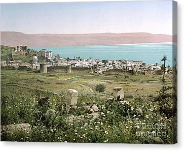 Holy Land: Tiberias Canvas Print