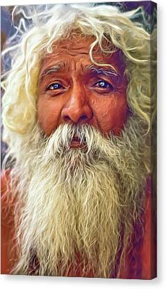 Holy Man - Such A Long Journey - Paint Canvas Print