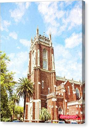 Holy Name Of Jesus Church - St. Charles Ave. Canvas Print by Scott Pellegrin