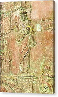 Cristian Church Canvas Print - Holy Savior  by Gaetano Chieffo