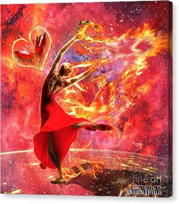 Holy Spirit Fire Canvas Print