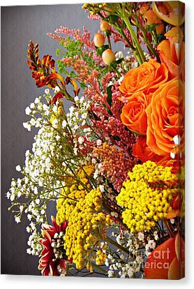 Canvas Print featuring the photograph Holy Week Flowers 2017 2 by Sarah Loft