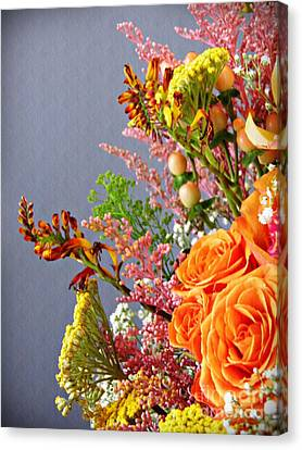 Holy Week Flowers 2017 3 Canvas Print by Sarah Loft