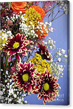Canvas Print featuring the photograph Holy Week Flowers 2017 4 by Sarah Loft