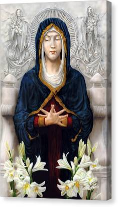 Holy Woman Canvas Print
