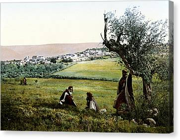 Holyland - Cana Of Galilee  Canvas Print by Munir Alawi