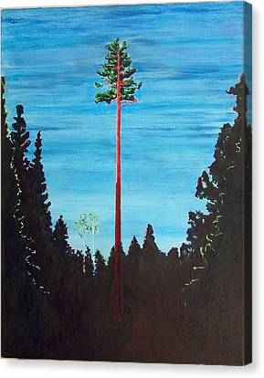 Homage To Emily Carr Canvas Print