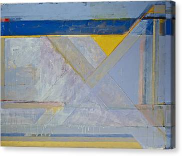 Homage To Richard Diebenkorn's Ocean Park Series  Canvas Print