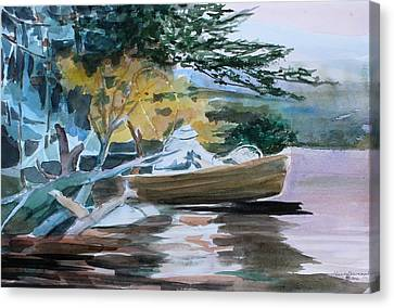 Homage To Winslow Homer Canvas Print by Mindy Newman