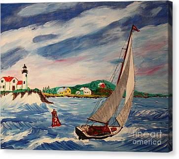 Home Ahead Of The Storm Canvas Print
