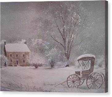 Home At Last Canvas Print by Charles Roy Smith