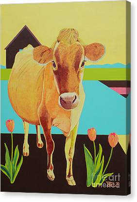 Mabel Canvas Print by Christine Belt