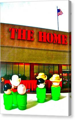 Home Away From Home Canvas Print by Ricky Sencion