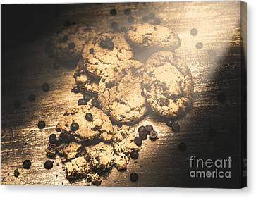 Home Biscuit Baking Canvas Print