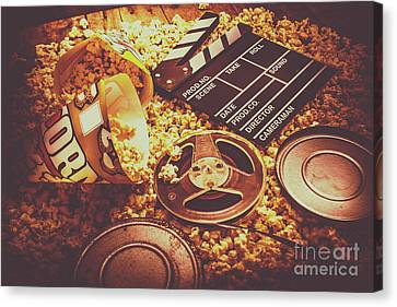 Home Cinema Art Canvas Print by Jorgo Photography - Wall Art Gallery