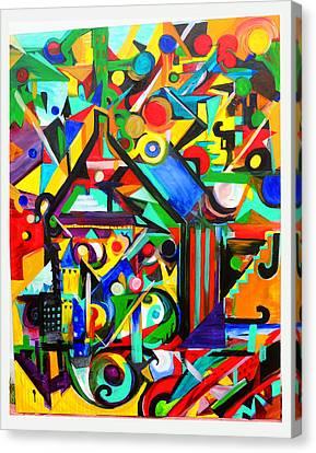 Debbie Hall Canvas Print - Home by Debbie Hall