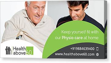 Home Healthcare Services In Chennai Canvas Print