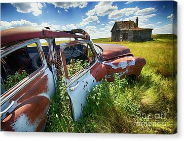 Home Home On The Range 4 Canvas Print