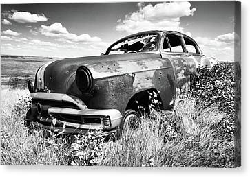 Home Home On The Range 5 Canvas Print