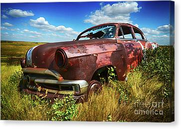 Home Home On The Range 6 Canvas Print