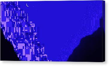 Home In Another World Canvas Print