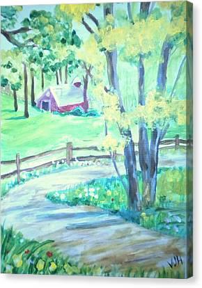Home In Kansas Canvas Print